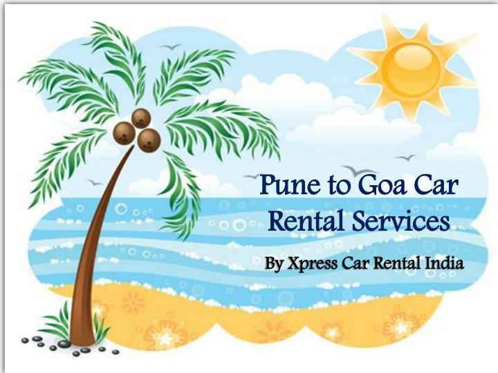 pune to goa car rental services n.