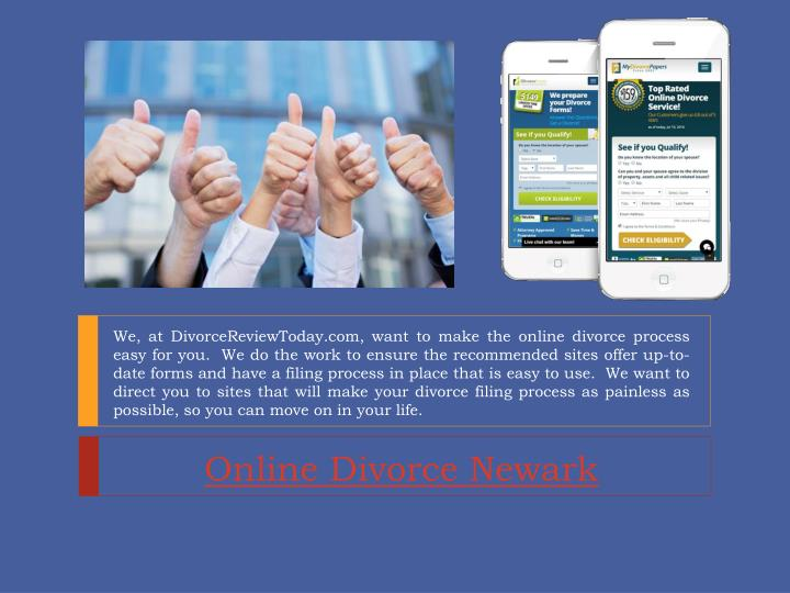 online divorce newark n.