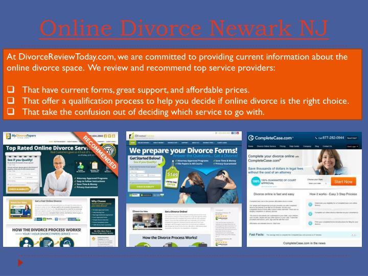 Online divorce newark nj