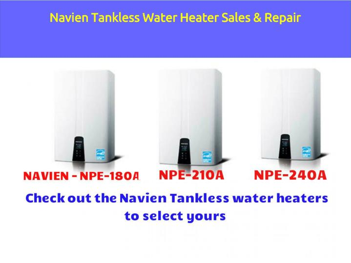 Ppt Tankless Water Heater Repair And Installation