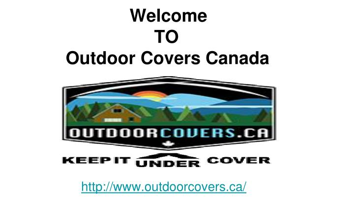 welcome to outdoor covers canada n.