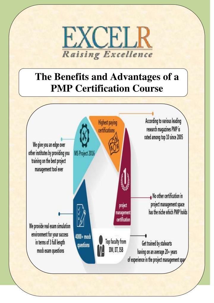 Ppt The Benefits And Advantages Of A Pmp Certification Course