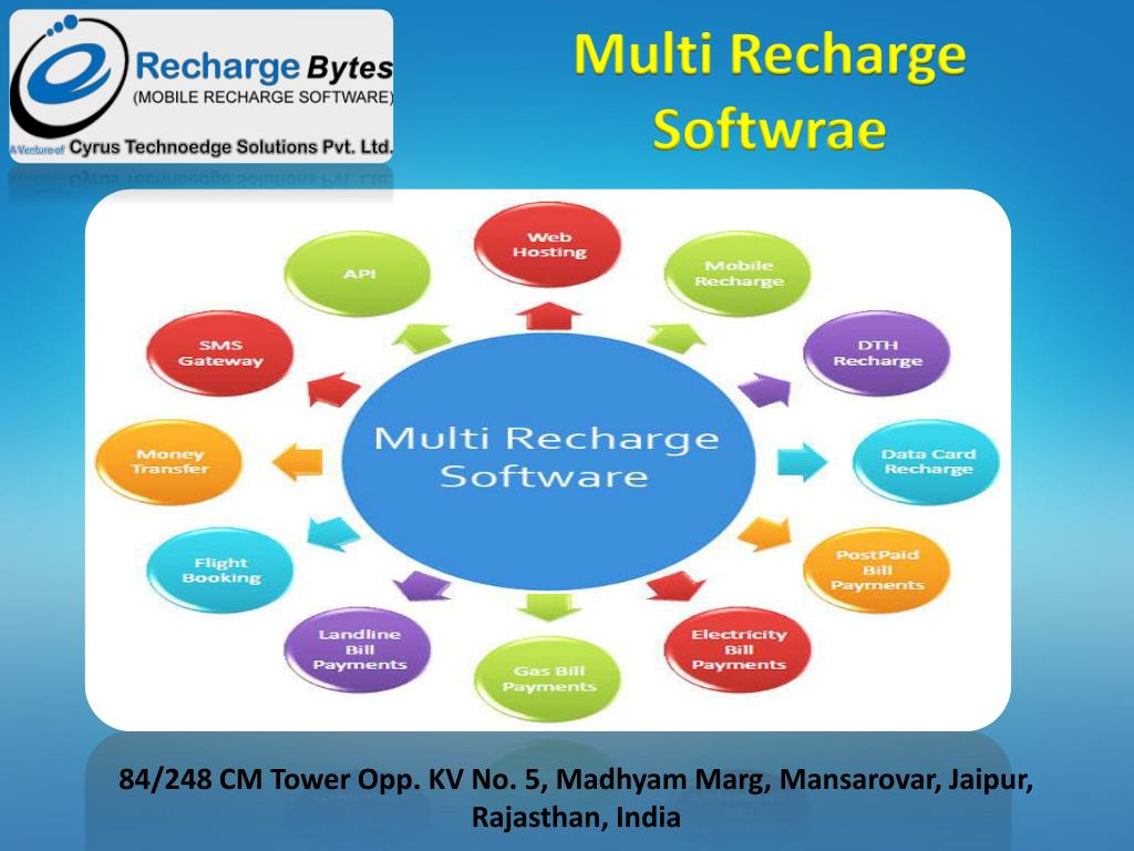 PPT - White lable Recahrge Software-Cyrus Recharge Solution