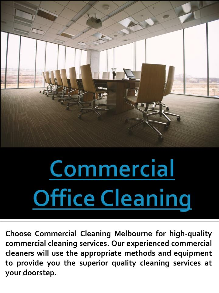 commercial office cleaning n.