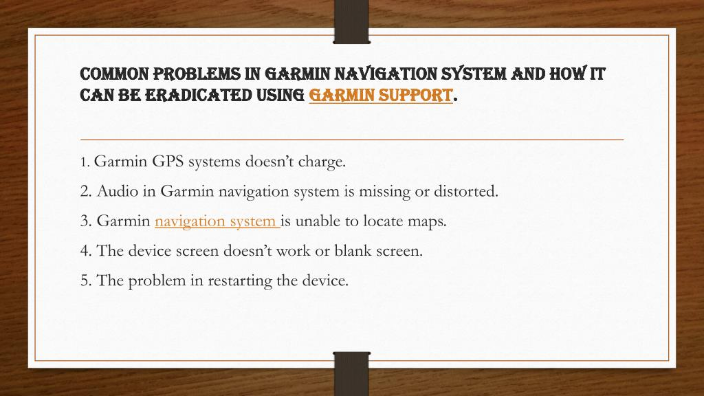 Garmin Gps Problems Screen