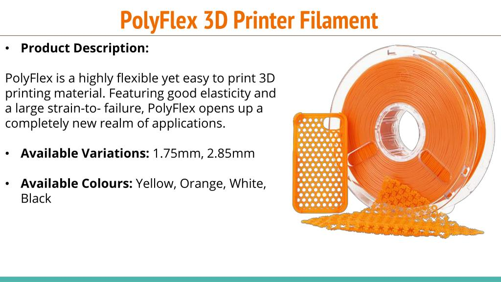 PPT - Introducing New Range of Polymaker 3D Printer Filaments