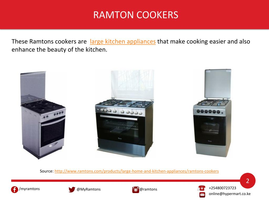 Ppt Purchase Large And Small Kitchen Appliances