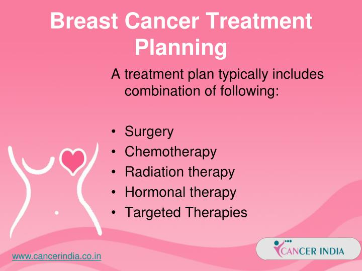 examples of treatment methods for breast cancer
