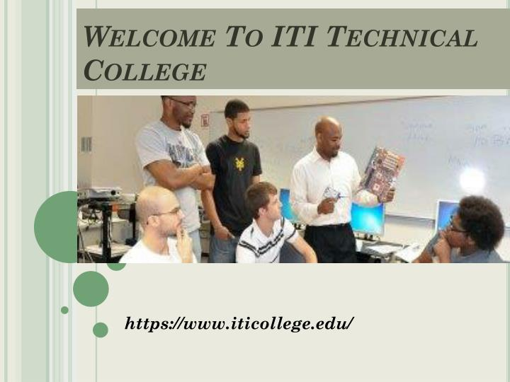 welcome to iti technical college n.