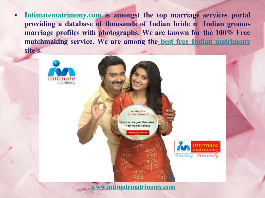 PPT - online matrimony kerala -Intimate matrimony 2017 PowerPoint