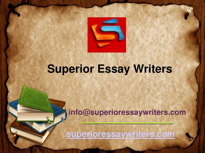 superior essays Discounts average $34 off with a superior papers promo code or coupon 28 superior papers coupons now on retailmenot.