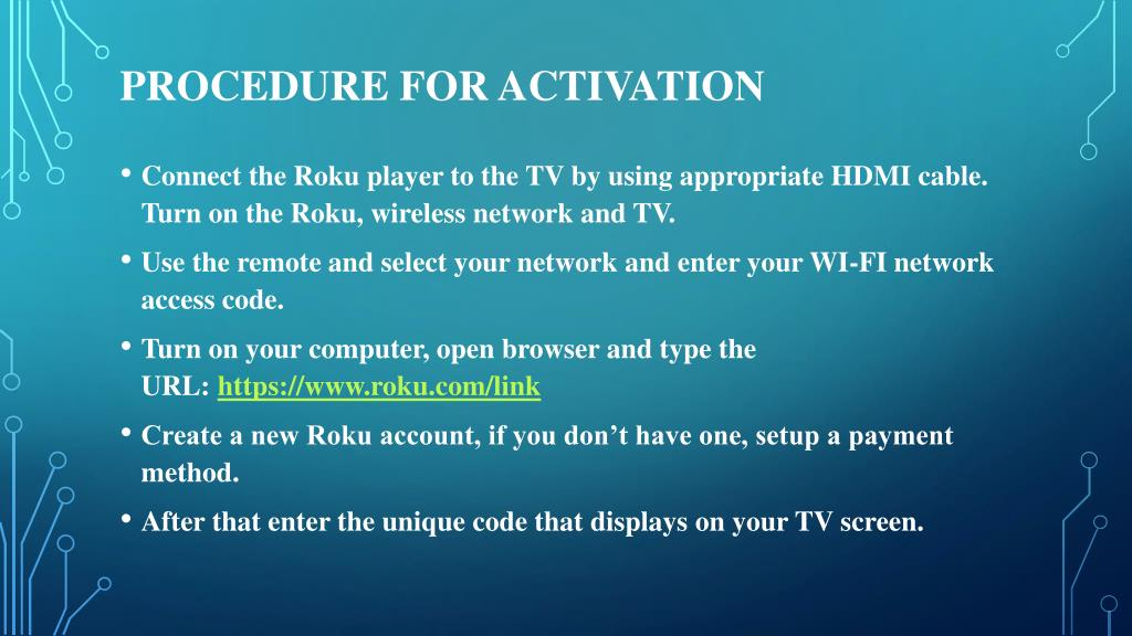 PPT - How to activate Roku com link account PowerPoint Presentation