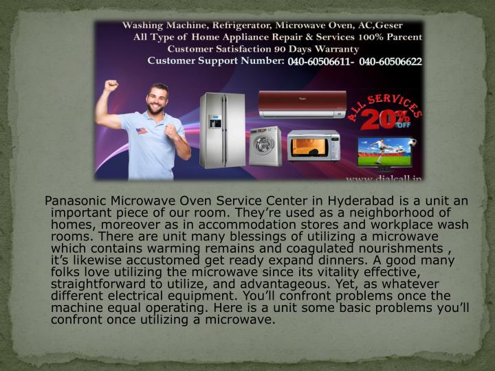 Panasonic Microwave Oven Service Center In Hyderabadis A Unit