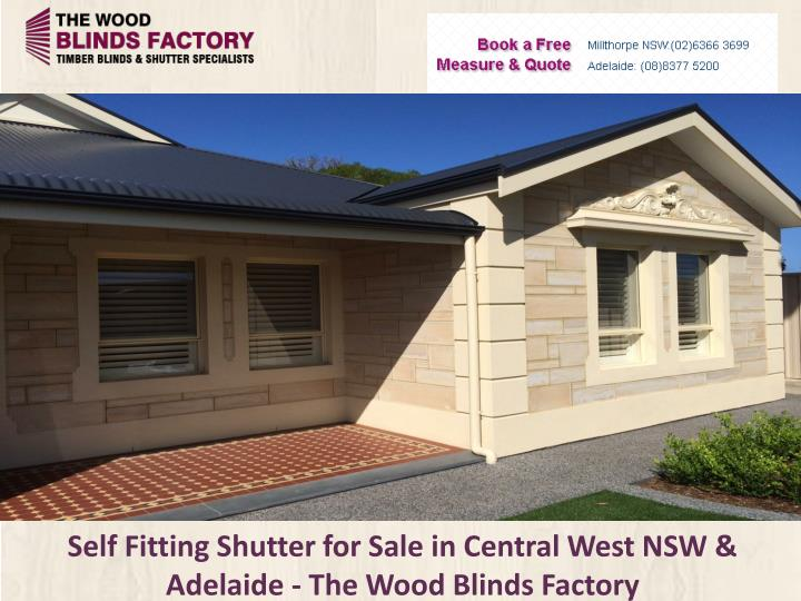self fitting shutter for sale in central west nsw adelaide the wood blinds factory n.