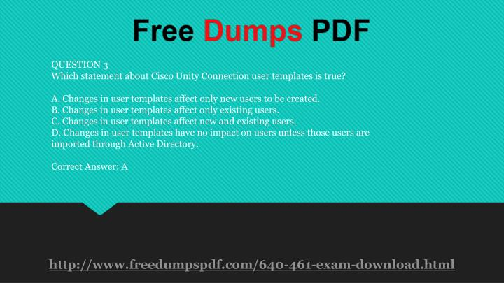 ppt - 640-461 practice exam questions powerpoint presentation - id, Modern powerpoint