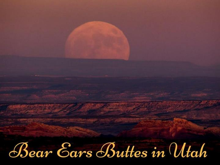 bear ears buttes in utah n.