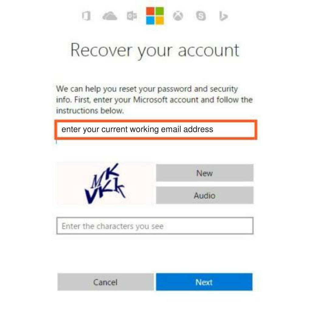 PPT - How to reset MSN password if you know the password if