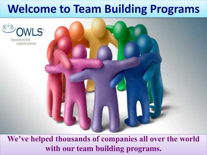 Team building presentation template for powerpoint and keynote.