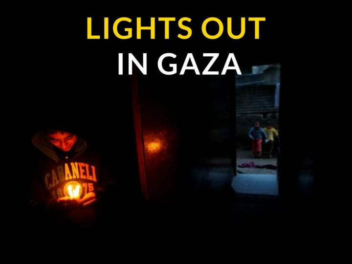 lights out in gaza n.