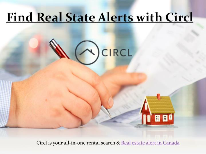 find real state alerts with circl n.
