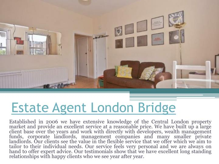PPT - Estate Agent London City Centre PowerPoint ...