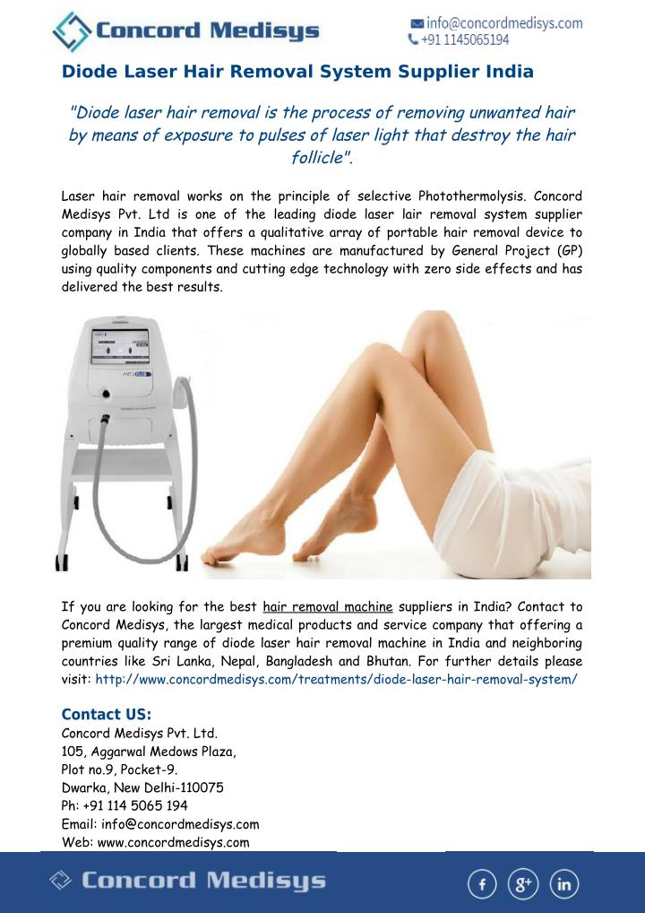 Ppt Best Hair Removal Machine In India Powerpoint Presentation