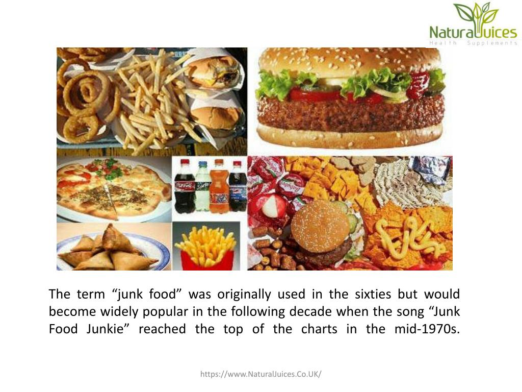 PPT - Disadvantages of Junk Food PowerPoint Presentation - ID:7482530