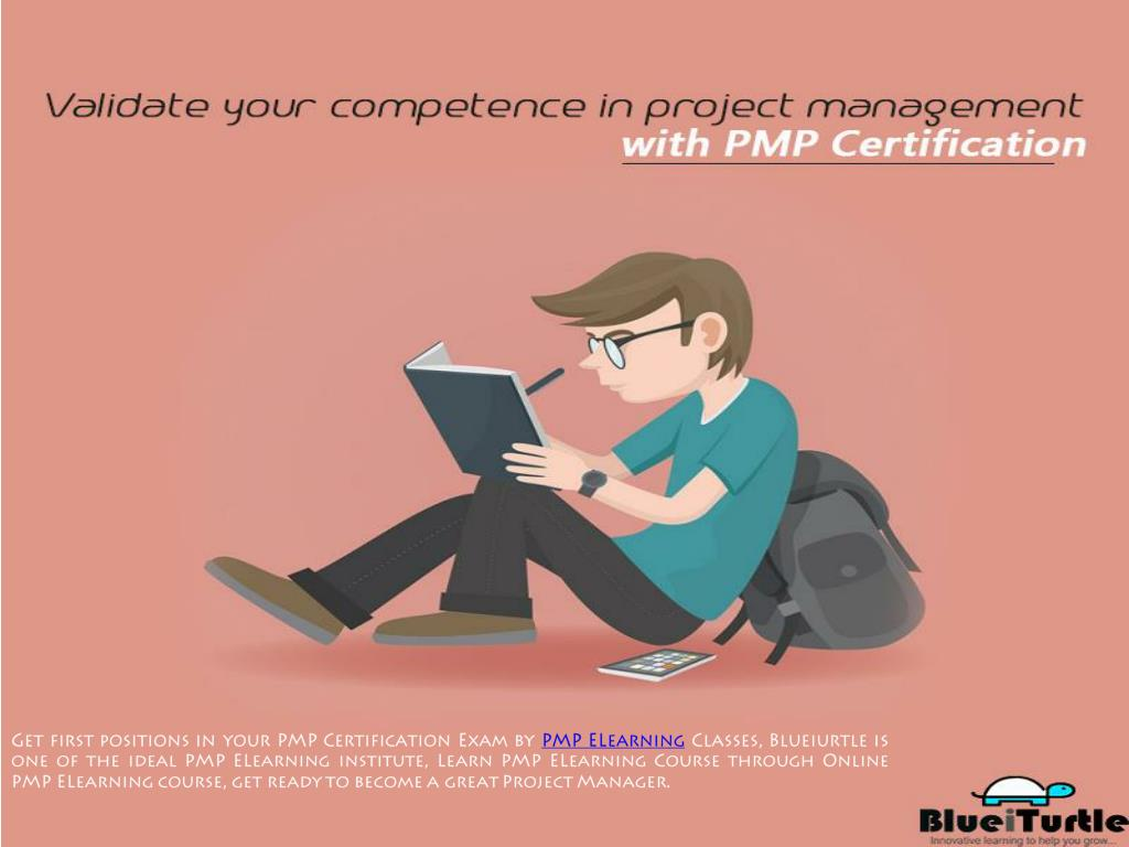 Ppt Pmp Elearning Certification Course Blueiurtle Powerpoint