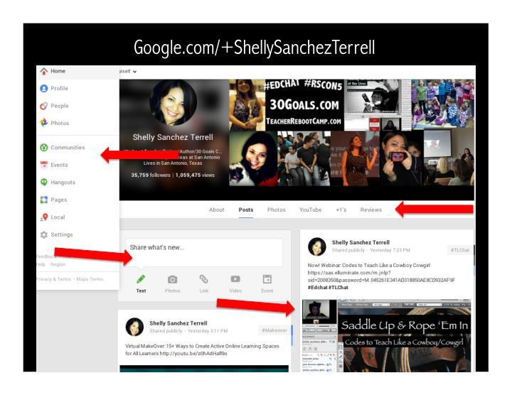 Google.com/+ShellySanchezTerrell