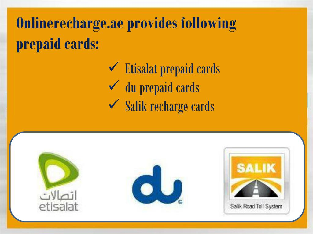 PPT - Quick Etisalat Recharge Online PowerPoint Presentation - ID