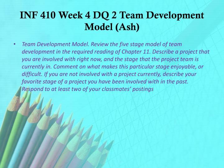 cmgt 410 week 1 final Cmgt 442 week 1 individual assignment cmgt 410 week 1 dqs described for the written report in week one for the final project due in week five cmgt 410 week.