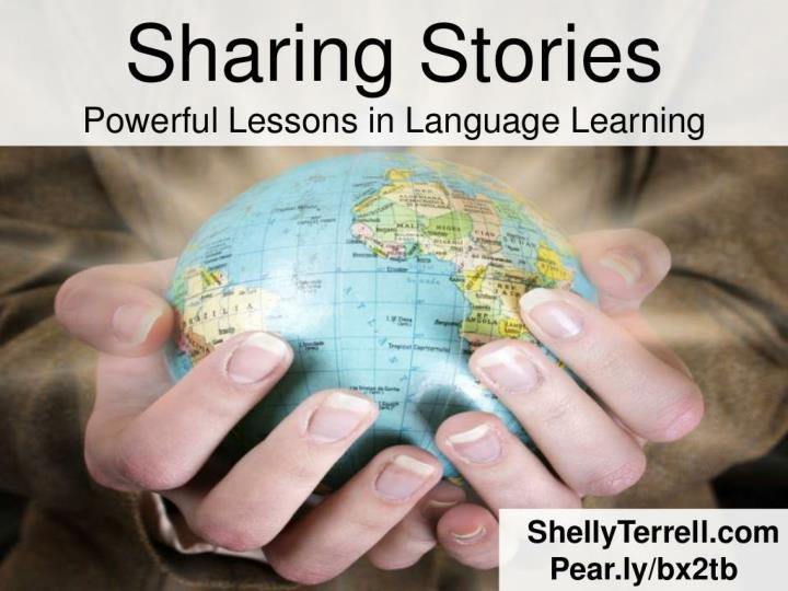 sharing stories powerful lessons in language n.