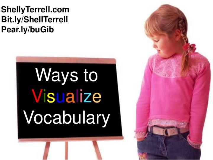 Visualize Vocabulary Slovania Wkshp 2013
