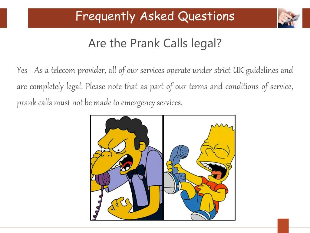 PPT - Prankcalls4u: Amazing Prank Call Website - Our FAQ PowerPoint