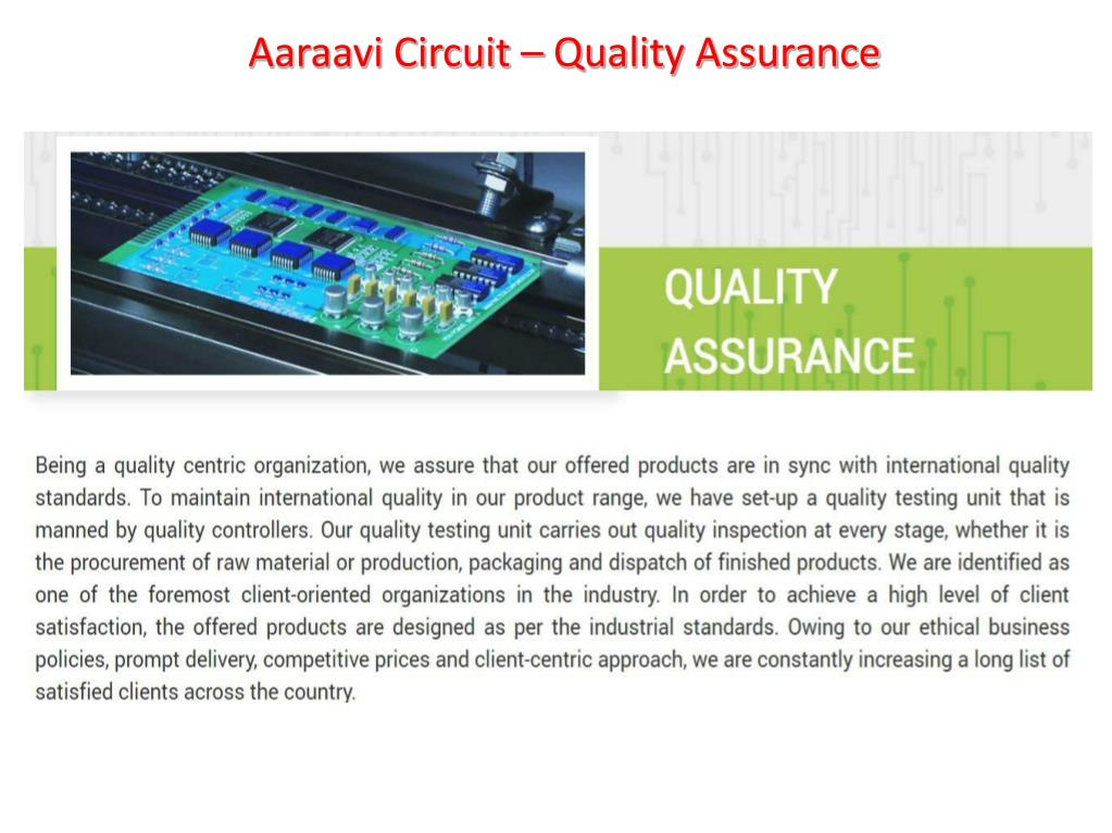 PPT - PCB Manufacturer | PCB Supplier In Gandhinagar