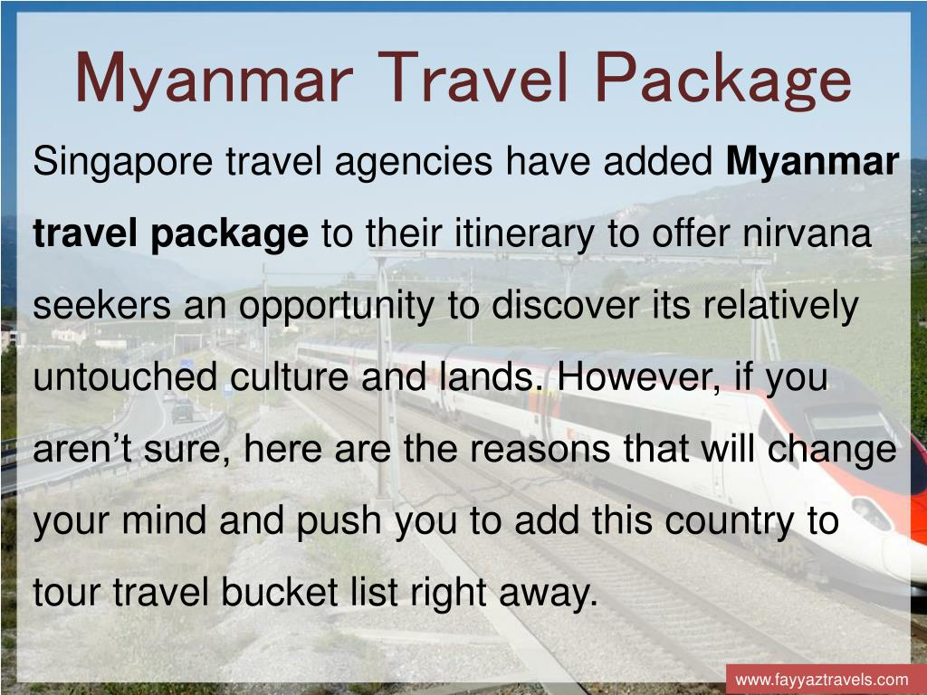 PPT - Travel Agency From Singapore | Fayyaz Travels PowerPoint