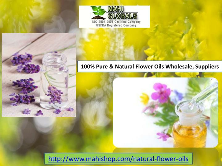 Wholesale Natural Essential Oils Suppliers