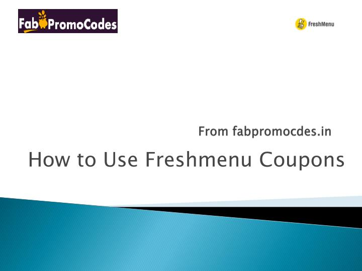 from fabpromocdes in n.