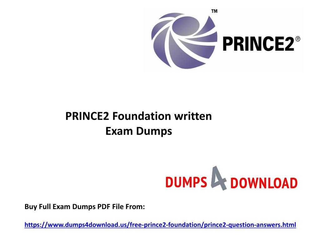 Prince2 foundationtrainer ppt v1. 2.
