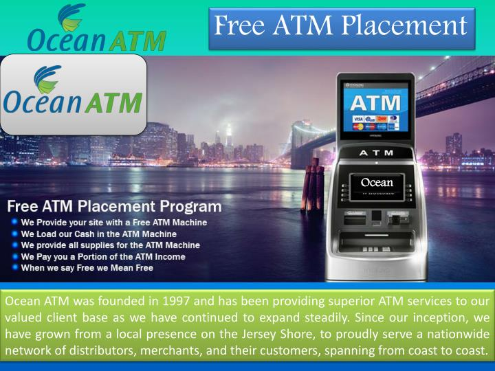 PPT - Atm Machine Service Available at Ocean ATM PowerPoint