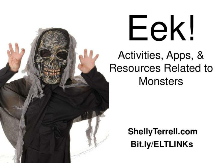 eek monster apps lesson ideas resources n.