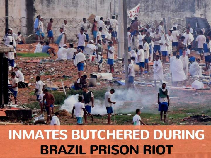 detainees butchered amid brazil jail riot n.