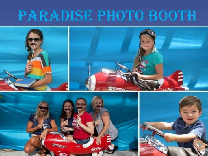 paradise photo booth n.