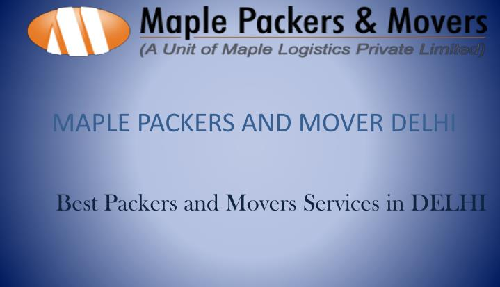 maple packers and mover delhi n.