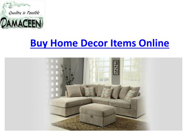 Ppt Best Home Decor Items Online In Us Powerpoint