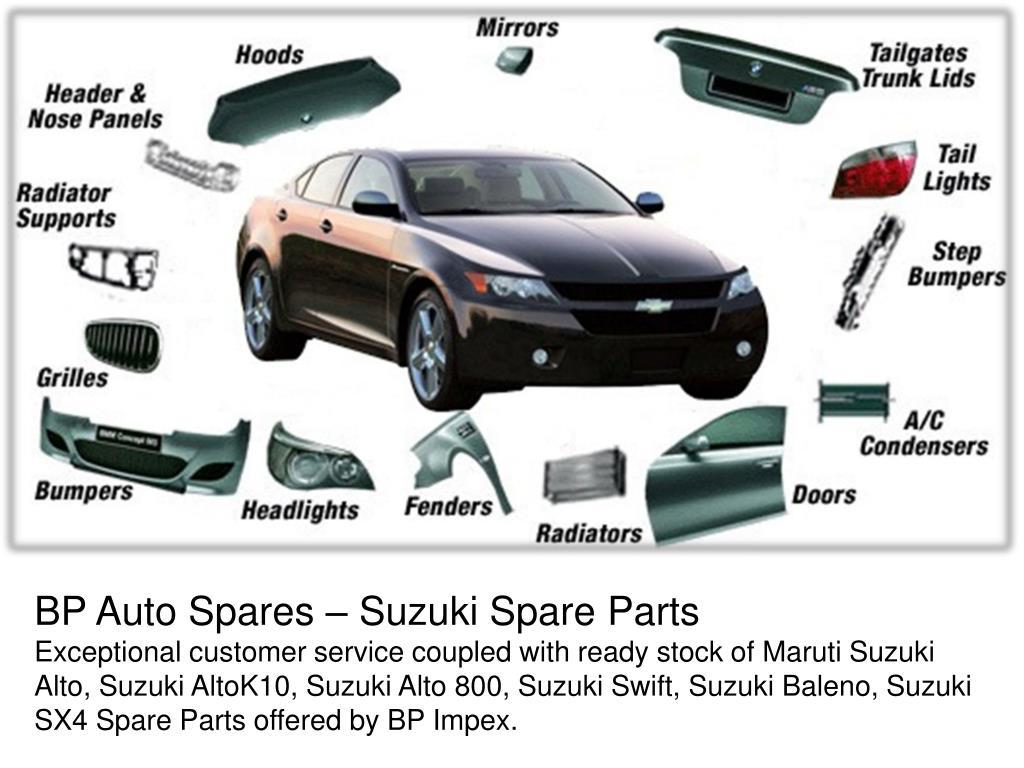 PPT - Suzuki Car Spare Parts PowerPoint Presentation - ID:7487281