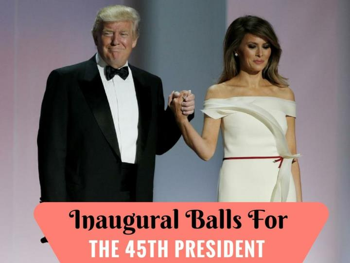 inaugural balls for the 45th president n.