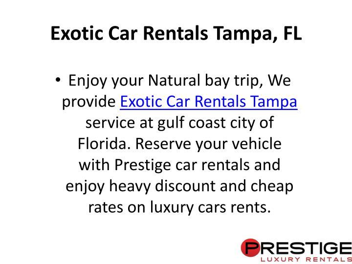 Tampa Bay Cheap Car Rentals