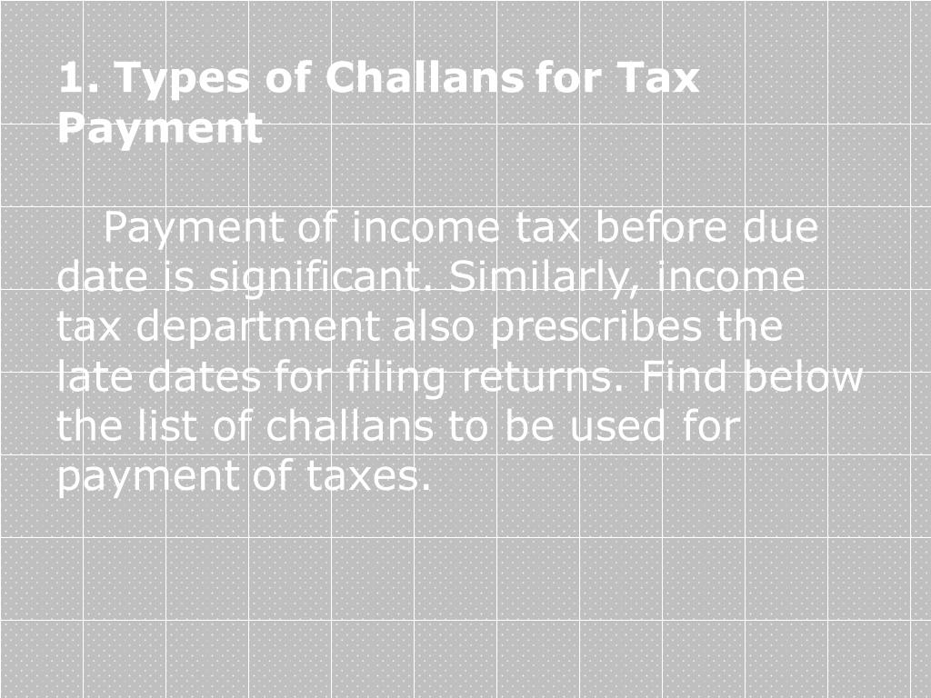 PPT - Income tax challan 280 form PowerPoint Presentation