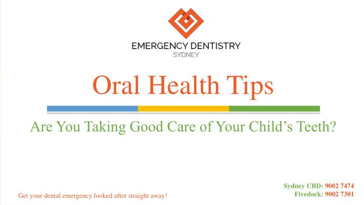 oral health tips n.